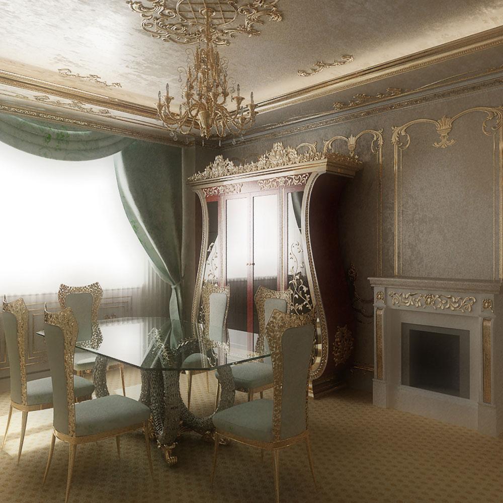 Интерьеры дома на Ходынском